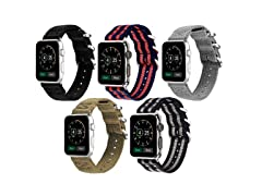 Aduro Nylon Buckle Band for Apple Watch Series 1/2/3/4