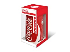 Coca-Cola Can Bluetooth Speaker with FM Radio - Red