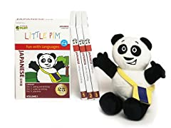 Japanese for Kids: Language Box Set Volume I w/Panda Plush