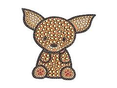 FouFou Dog Rhinestone Sticker Chihuahua