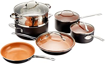 10-Pc. Gotham Steel Non-Stick Cookware Set