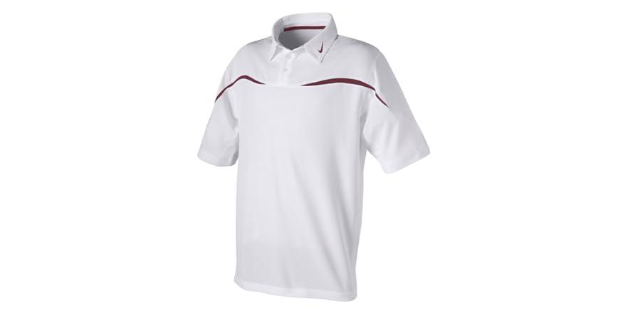 Sphere dri fit polo white maroon for Maroon dri fit polo shirt
