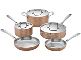 Cuisinart HCTP-8W 8 PC. Hammered Copper Set