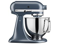 KitchenAid 5-Quart Tilt-Head Stand Mixer, Blue Steel