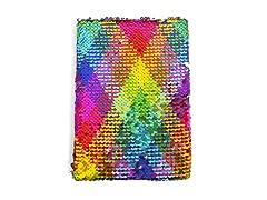 Streamline Rainbow Sequin Journal