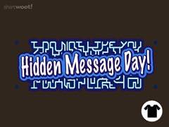 Hidden Message Day