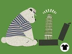 Tourist Bear Visits Italy