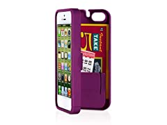 iPhone 5 Case w/Hinged Back - Purple
