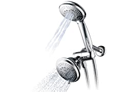 Hydroluxe Ultra-Luxury 2-in-1 Shower Combo