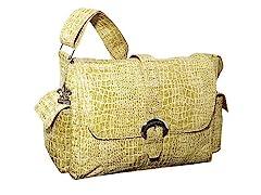 Kalencom Buckle Bag - Moss Crocodile