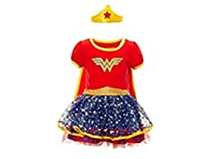 Wonder Woman Girls' Costume