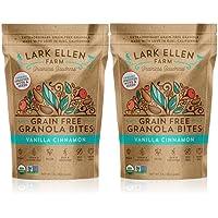 2 Pack Lark Ellen Farm Granola Original Grain Free Bites 16oz (Vanilla Cinnamon)