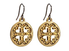 Relic RJ2208715 Gold Round Earrings