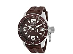 Men's Specialty Brown Polyurethane Watch