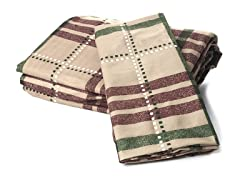 Microfiber Flannel Set - Plaid - 4 Sizes