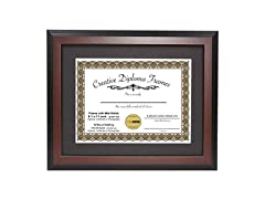 CreativePF Mahogany Diploma Frame