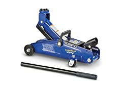 Goodyear Racing Hydraulic Trolley Jack- 2-Ton Capacity