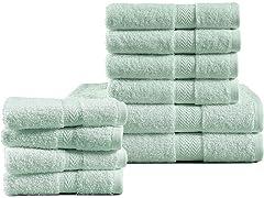 10PC Bath Towel Set (Your Choice Color)