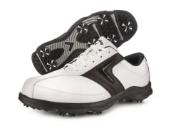 Men's C-Tech Saddle Shoe White/Brown