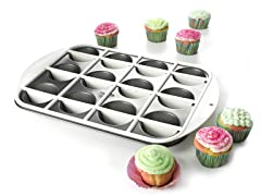 Mrs. Fields Half-N-Half Cupcake Pan