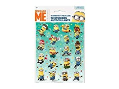Despicable Me Minions Sticker Sheets