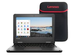 "Lenovo 11e 11.6"" QC 16GB Chromebook (S&D)"