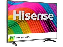 """Hisense 43"""" 4K Ultra-HD Wi-Fi Smart TV"""