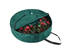 Holiday Christmas Wreath Storage Bags