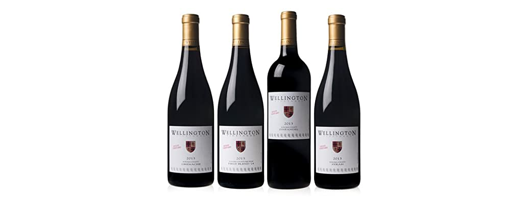 Wellington Vineyards Mixed Estate Reds (4)