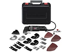 Oscillating Multi-Tool Kit with 52 Accessories