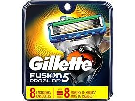 Gillett Fusion5 ProGlide Men's Razor Blades
