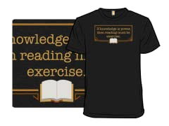 Reading is Exercise
