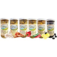 6-Pack California Coast Naturals Olive Sampler