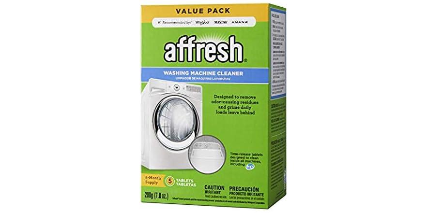 Affresh W10549846 Washing Machine Cleaner 5 Tab