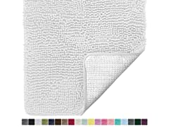Gorilla Grip Luxury Chenille Bath Mat