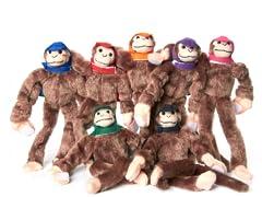2012 Woot Monkey Games - Monkey 7-Pack