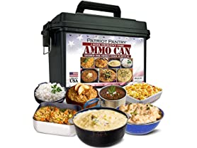 Patriot Pantry 1-Week Food Supply Ammo Can