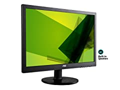 "AOC 24"" Full-HD LED Monitor w/Speakers"