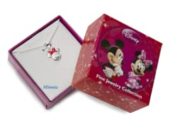 Minnie Red & Sterling Silver Pendant