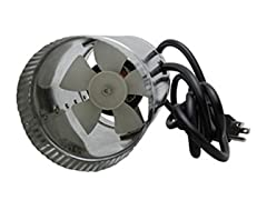 4-Inch Inline Ducting Booster Fan