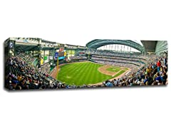 MLB Baseball Ballpark Canvases - Brewers