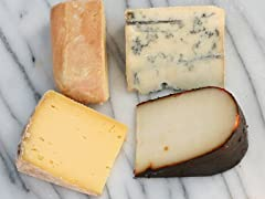 Assortment of Cheeses From The Southern US