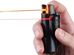 Guard Dog Security Keychain Pepper Spray with Laser Sight