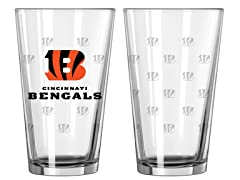 Bengals Pint Glass 2-Pack