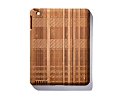 Bamboo Plaid Cover for iPad 2 & 3