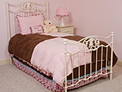 Chocolate Delight 3-Piece Twin Bedding Set