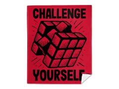 80's Challenge Mink Fleece Blanket