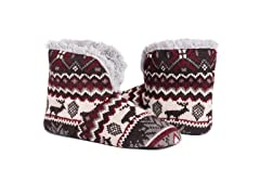 MUK LUKS Men's Slipper Booties