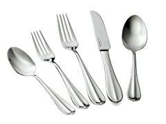 Cuisinart 18/10 Stainless Flatware Set (20-Piece)
