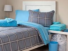 Venice 22pc Reversible Dorm Set-2 Sizes